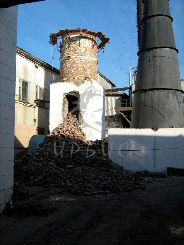 Демонтаж монтаж газовых труб